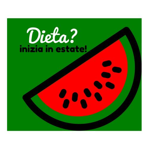 Comincia la dieta inestate!