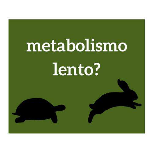 Metabolismo lento: perché?